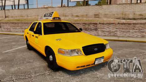 Ford Crown Victoria 1999 LCC Taxi для GTA 4