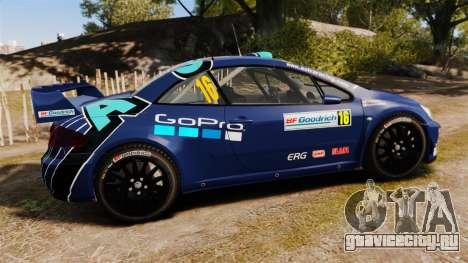 Peugeot 307 WRC для GTA 4 вид слева