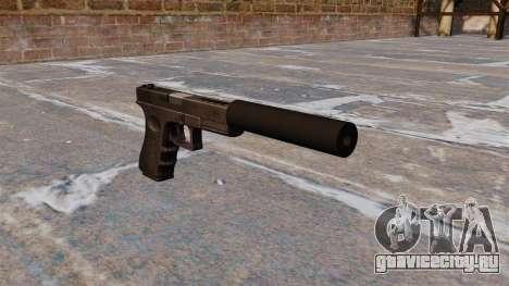 Автоматический пистолет Glock 18C для GTA 4