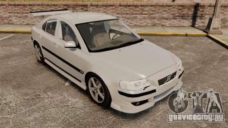 Volvo S60R для GTA 4 вид сбоку