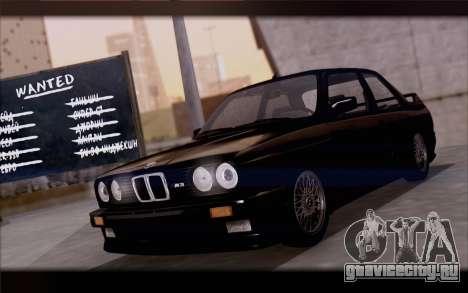 BMW M3 E30 Stock Version для GTA San Andreas