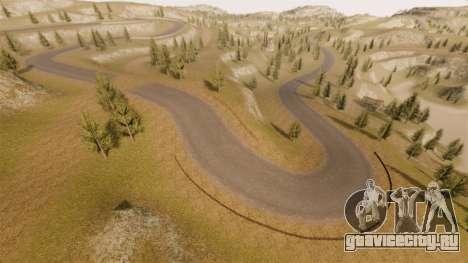 Локация Cliffside Rally для GTA 4 девятый скриншот