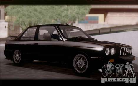 BMW M3 E30 Stock Version для GTA San Andreas вид слева