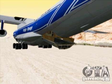 Ил-76ТД-90ВД Волга-Днепр для GTA San Andreas вид изнутри