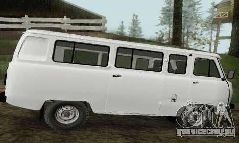 УАЗ 2206 Буханка для GTA San Andreas вид слева