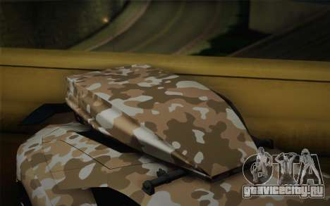Lamborghini Aventador LP 700-4 Camouflage для GTA San Andreas вид справа