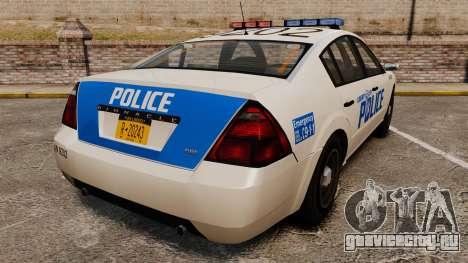 Pinnacle Police LCPD [ELS] для GTA 4 вид сзади слева