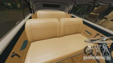 Cadillac Series 62 1949 для GTA 4 вид сверху