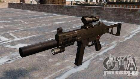 Пистолет-пулемёт UMP45 для GTA 4