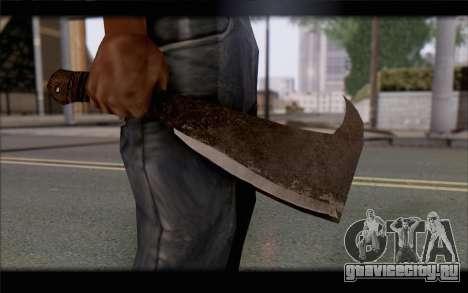 Мачете для GTA San Andreas третий скриншот