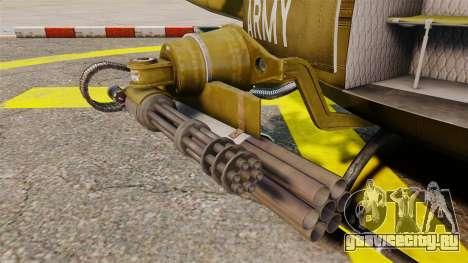 Bell UH-1 Iroquois v2.0 Gunship [EPM] для GTA 4 вид сбоку