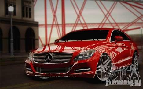 Mercedes-Benz CLS 63 AMG 2012 Fixed для GTA San Andreas вид сбоку