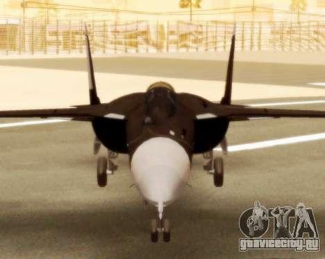 Су-47 Беркут v1.0 для GTA San Andreas вид сзади слева