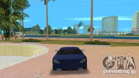 Mercedes-Benz SLS AMG V12 для GTA Vice City вид сзади слева