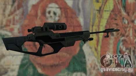 Снайперская винтовка из Timeshift для GTA San Andreas второй скриншот