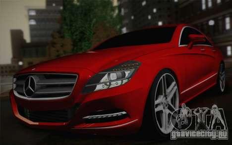 Mercedes-Benz CLS 63 AMG 2012 Fixed для GTA San Andreas вид справа