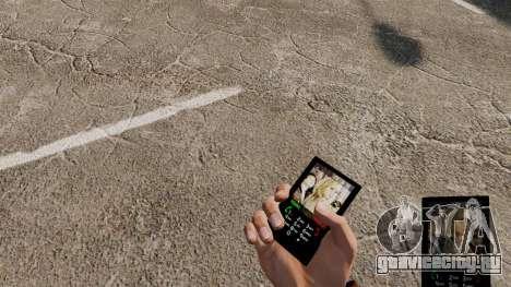 Тема для телефона Heroes для GTA 4