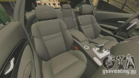 BMW M6 для GTA 4 вид сбоку