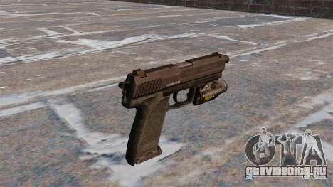 Пистолет HK USP.45 MW3 для GTA 4 второй скриншот
