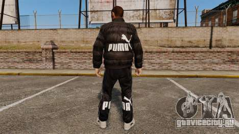 Одежда Puma для GTA 4 второй скриншот