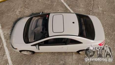 Honda Civic Si v2.0 для GTA 4 вид справа