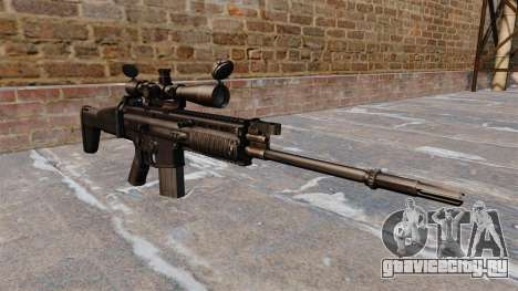 Автоматическая винтовка FN SCAR-H для GTA 4