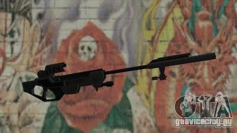 Снайперская винтовка из Timeshift для GTA San Andreas