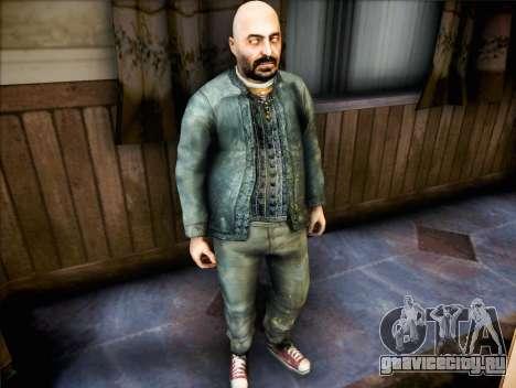 Священник из Half Life 2 для GTA San Andreas второй скриншот