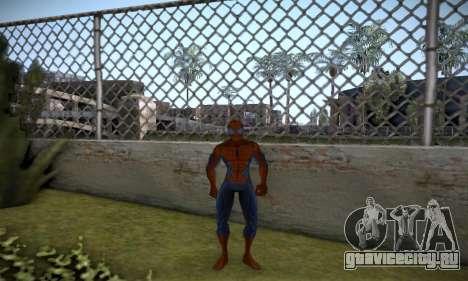 Spider man EOT Full Skins Pack для GTA San Andreas третий скриншот