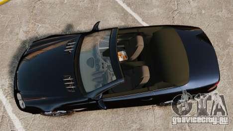 Mercedes-Benz SL65 AMG для GTA 4 вид справа