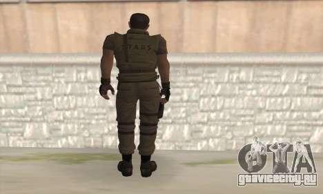 Крис Редфилд v2 для GTA San Andreas второй скриншот