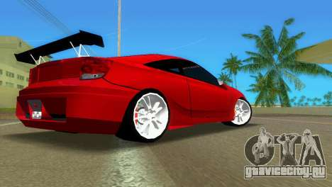 Toyota Celica XTC для GTA Vice City вид справа