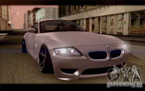 BMW Z4 Stance для GTA San Andreas