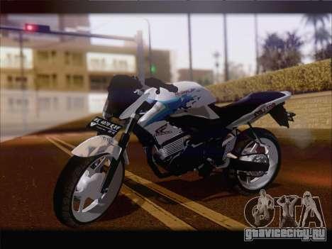 Honda CB150R StreetFire для GTA San Andreas