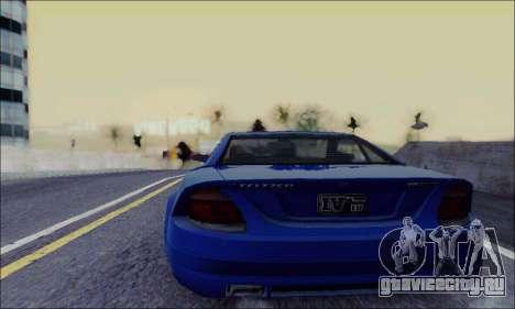 Feltzer из GTA IV для GTA San Andreas вид сзади слева