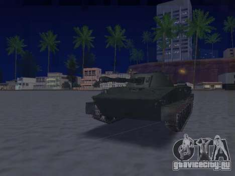 ПТ-76 для GTA San Andreas вид слева