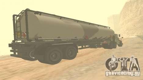 Прицеп для Barracks GTA 5 ver.2 для GTA San Andreas
