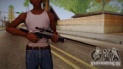 Снайперская Винтовка из Max Payn для GTA San Andreas третий скриншот