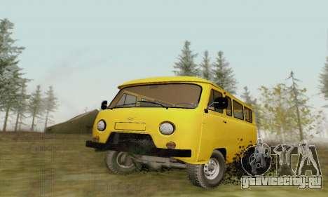 УАЗ 2206 Буханка для GTA San Andreas вид изнутри