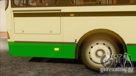 ЛиАЗ 5256.57 для GTA San Andreas вид сзади слева