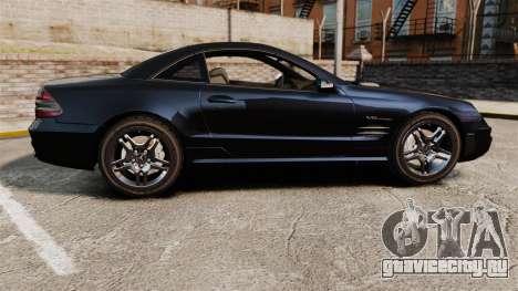 Mercedes-Benz SL65 AMG для GTA 4 вид слева