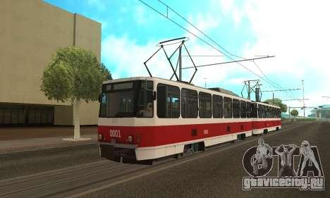 Tatra T6B5 для GTA San Andreas