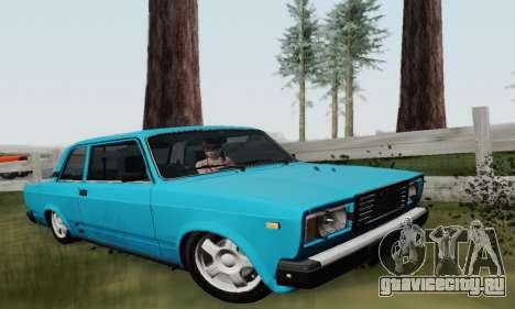 ВАЗ 2107 Купе для GTA San Andreas
