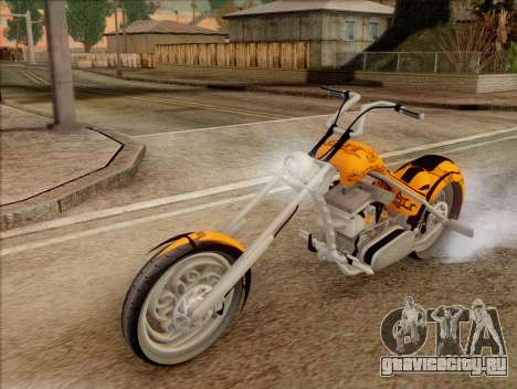 Sons Of Anarchy Chopper Motorcycle для GTA San Andreas