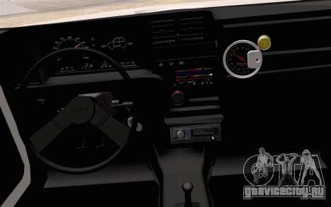 Fiat 147 Spazio-TR для GTA San Andreas вид справа
