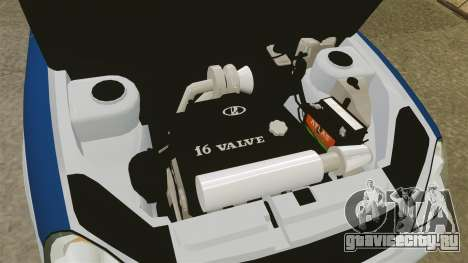 ВАЗ-2170 Лада Приора ДПС для GTA 4 вид сзади