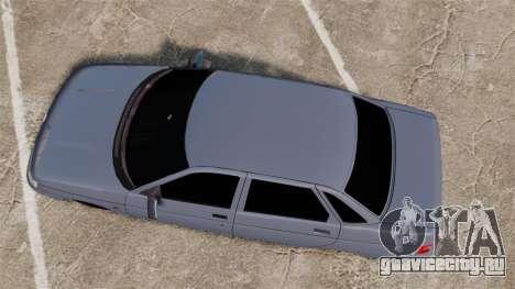 ВАЗ-2110 для GTA 4 вид справа