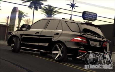 Mercedes-Benz ML63 AMG для GTA San Andreas вид слева