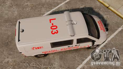 Volkswagen Transporter T5 2010 [ELS] для GTA 4 вид справа