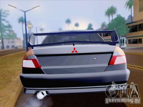 Mitsubishi Lancer Evolution VI LE для GTA San Andreas вид сбоку